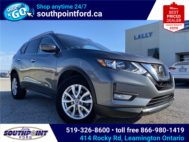 2019 Nissan Rogue SV (Stk: S10762R) in Leamington - Image 1 of 27