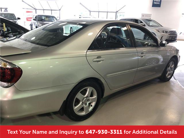 2005 Toyota Camry SE (Stk: J3954A) in Mississauga - Image 2 of 15