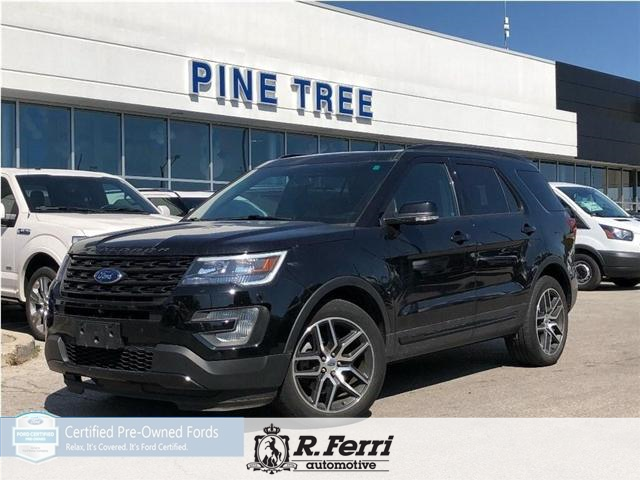 2017 Ford Explorer Sport Sport At 43880 For Sale In Vaughan