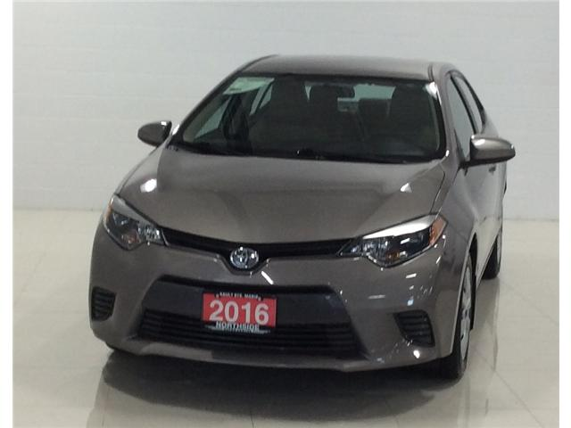 2016 Toyota Corolla LE (Stk: M18273A) in Sault Ste. Marie - Image 1 of 10