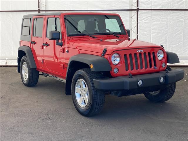 2016 Jeep Wrangler Unlimited Sport (Stk: 17672A) in Thunder Bay - Image 1 of 16