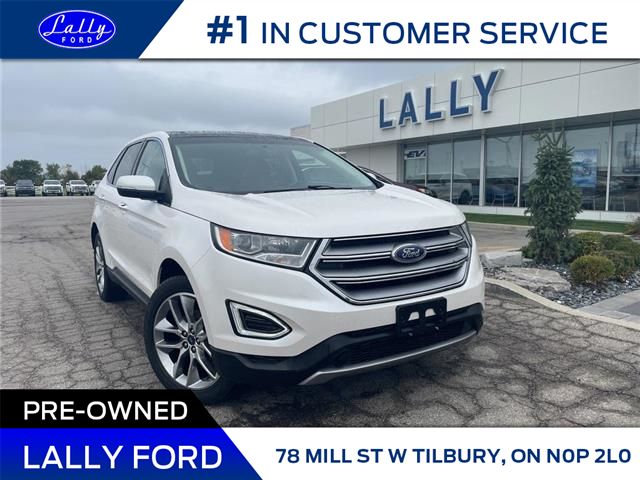 2018 Ford Edge Titanium (Stk: 27934A) in Tilbury - Image 1 of 20