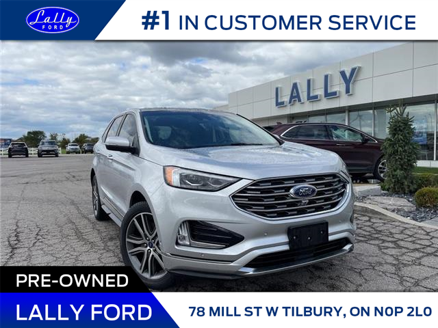 2019 Ford Edge Titanium (Stk: 28037A) in Tilbury - Image 1 of 26