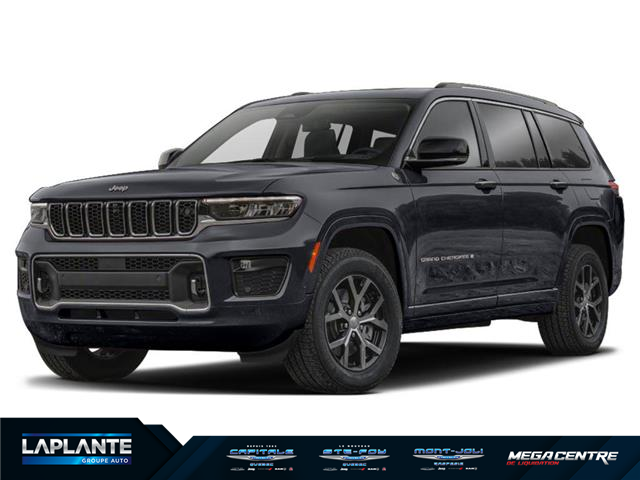 2021 Jeep Grand Cherokee L Overland (Stk: M0616) in Québec - Image 1 of 2