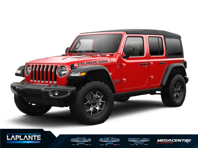 2021 Jeep Wrangler Unlimited Rubicon (Stk: 1M418) in Quebec - Image 1 of 1