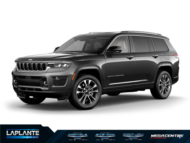 2021 Jeep Grand Cherokee L Overland (Stk: ) in Quebec - Image 1 of 1