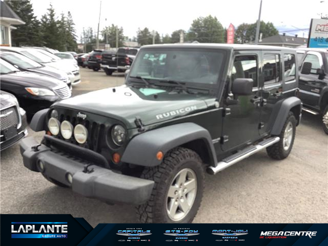 2010 Jeep Wrangler Unlimited Rubicon (Stk: 855A) in Shannon - Image 1 of 7