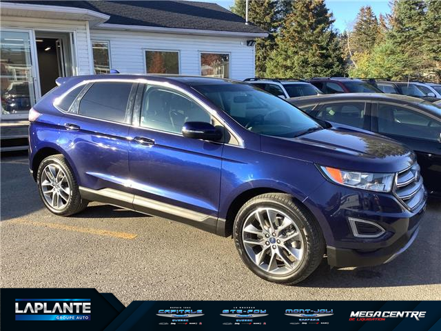 2016 Ford Edge Titanium (Stk: M0594A) in Shannon - Image 1 of 10