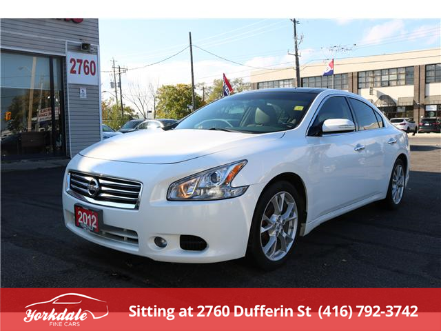 2012 Nissan Maxima SV (Stk: D2 7767) in North York - Image 1 of 27