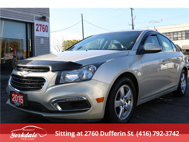 2015 Chevrolet Cruze 2LT (Stk: D2 5547) in North York - Image 1 of 24