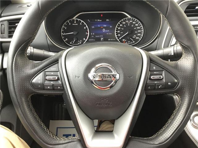 2018 Nissan Maxima SL (Stk: U1378) in Hamilton - Image 7 of 28