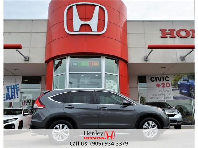 2012 Honda CR-V EX-L AWD LEATHER BACK UP CAMERA (Stk: H17180A) in St. Catharines - Image 1 of 27