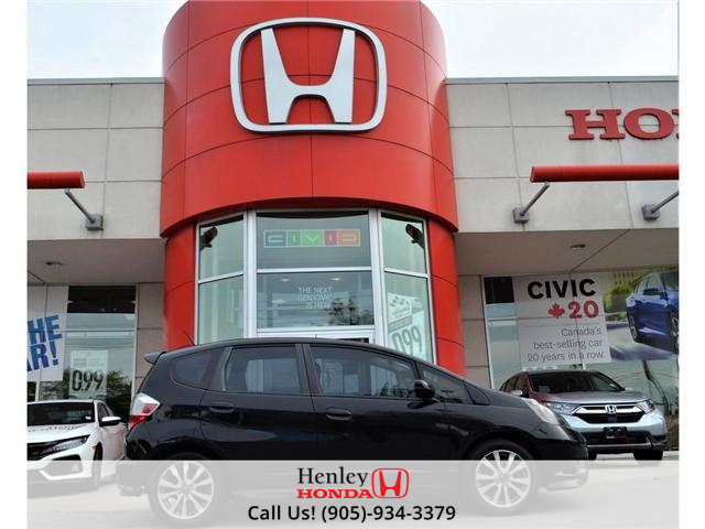 2013 Honda Fit Sport ALLOY WHEELS (Stk: H17162A) in St. Catharines - Image 1 of 22
