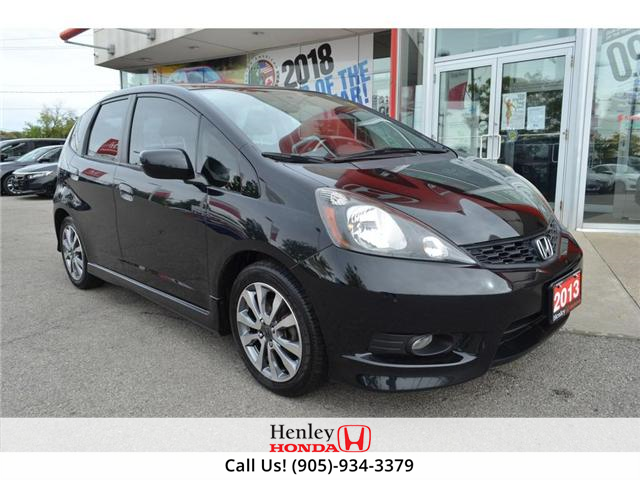 2013 Honda Fit Sport ALLOY WHEELS (Stk: H17162A) in St. Catharines - Image 2 of 22