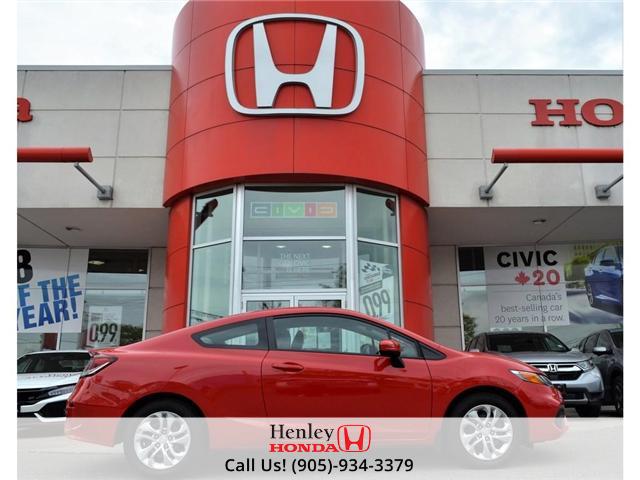 2015 Honda Civic LX BLUETOOTH BACK UP CAMERA (Stk: B0776) in St. Catharines - Image 1 of 29