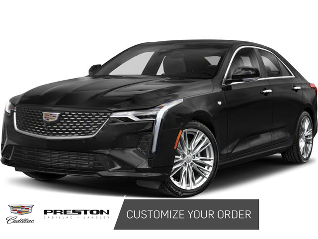 2021 Cadillac CT4 Premium Luxury (Stk: OO555) in Langley City - Image 1 of 8