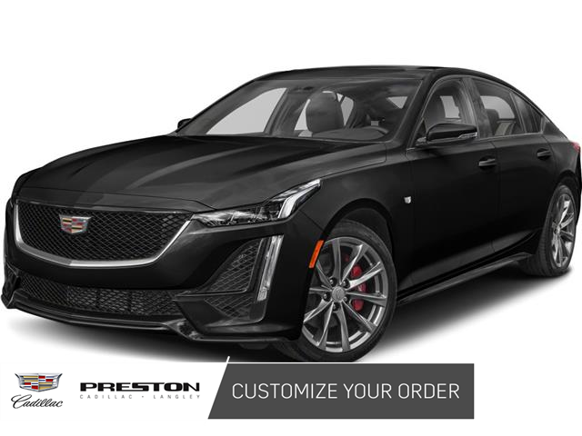 2021 Cadillac CT5 Sport (Stk: OO888) in Langley City - Image 1 of 6