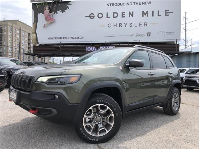 2021 Jeep Cherokee Trailhawk (Stk: P5501) in North York - Image 1 of 30