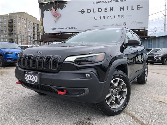 2020 Jeep Cherokee Trailhawk 1C4PJMBX2LD512272 P5394 in North York