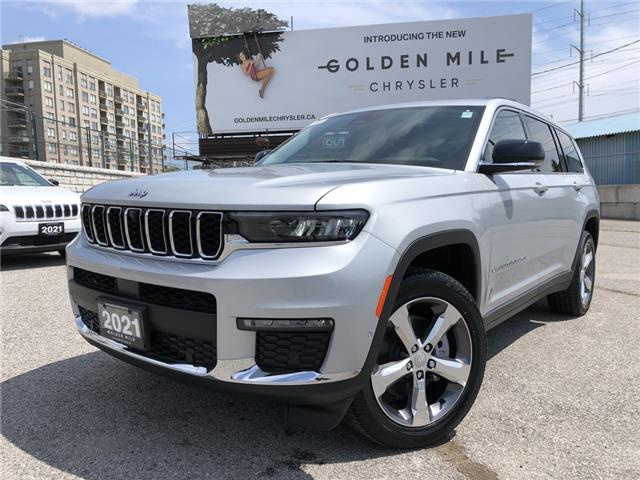 2021 Jeep Grand Cherokee L Limited (Stk: 21185) in North York - Image 1 of 30