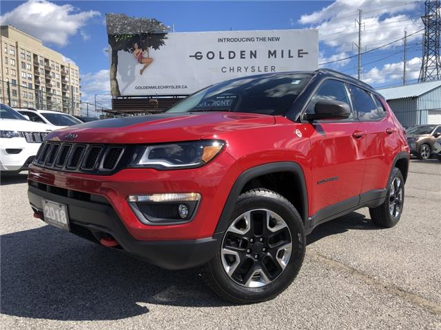 2018 Jeep Compass Trailhawk (Stk: P5618) in North York - Image 1 of 31
