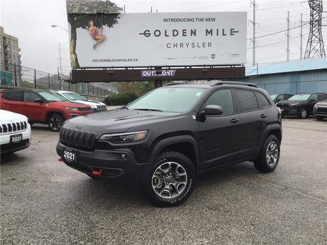 2021 Jeep Cherokee Trailhawk (Stk: 21240) in North York - Image 1 of 30