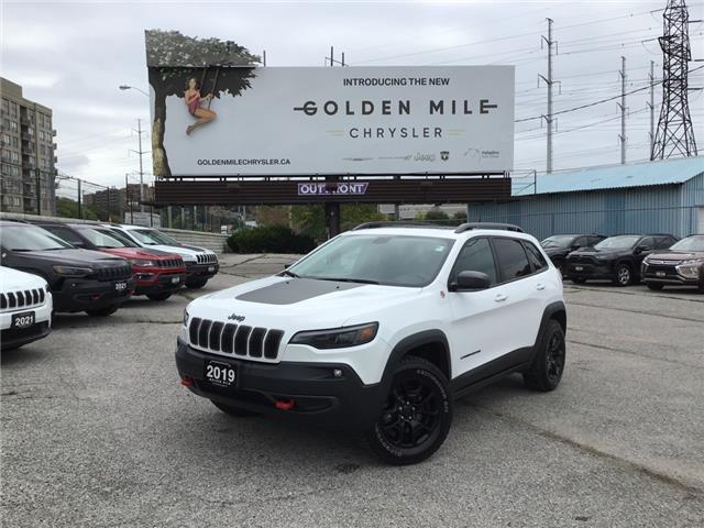 2019 Jeep Cherokee Trailhawk (Stk: 21245A) in North York - Image 1 of 29