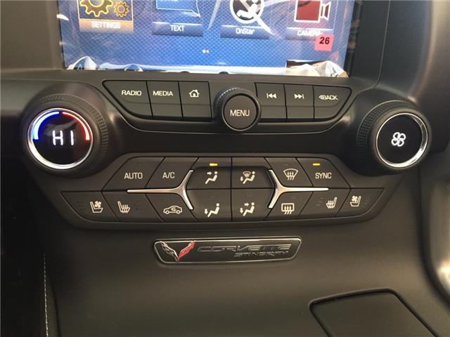 2019 Chevrolet Corvette Stingray Z51 (Stk: 167762) in AIRDRIE - Image 19 of 20