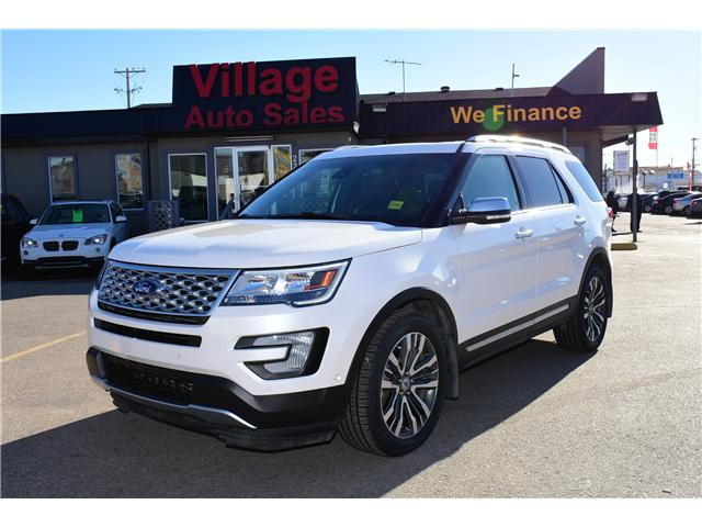 2016 Ford Explorer Platinum (Stk: P35671) in Saskatoon - Image 1 of 30