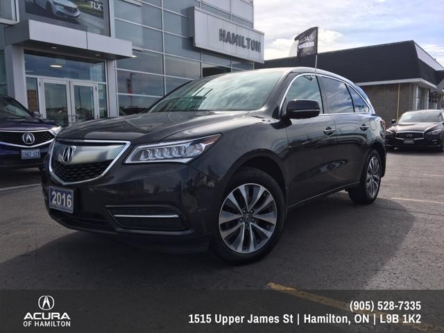 2016 Acura MDX Navigation Package (Stk: 1612410) in Hamilton - Image 1 of 24