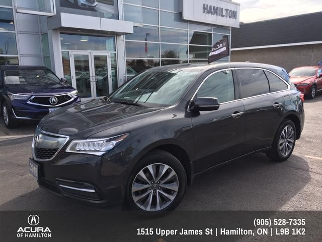 2016 Acura MDX Navigation Package (Stk: 1612410) in Hamilton - Image 2 of 24