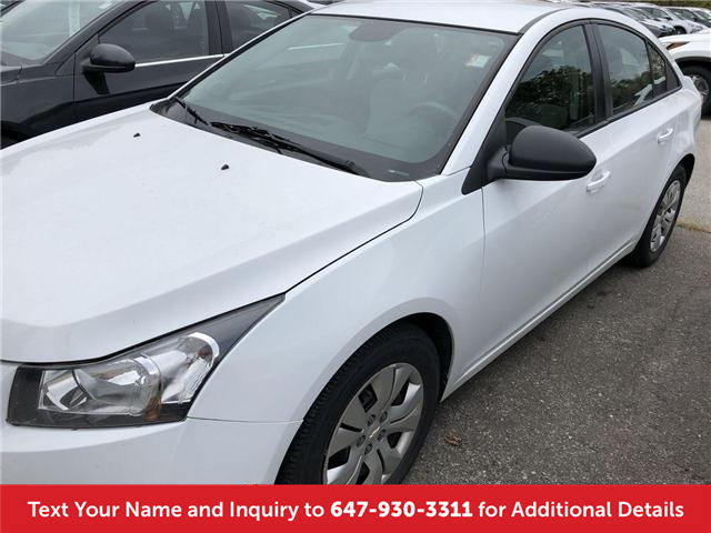 2014 Chevrolet Cruze 2LS (Stk: J81112A) in Mississauga - Image 1 of 13