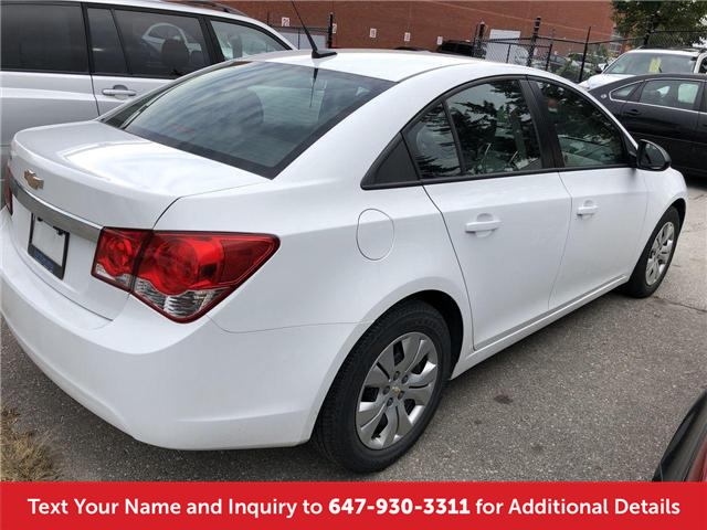 2014 Chevrolet Cruze 2LS (Stk: J81112A) in Mississauga - Image 2 of 13
