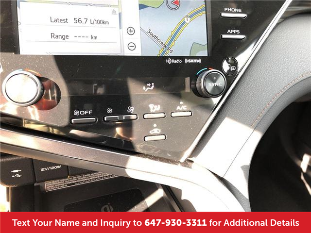 2018 Toyota Camry XLE V6 (Stk: J4401) in Mississauga - Image 18 of 20