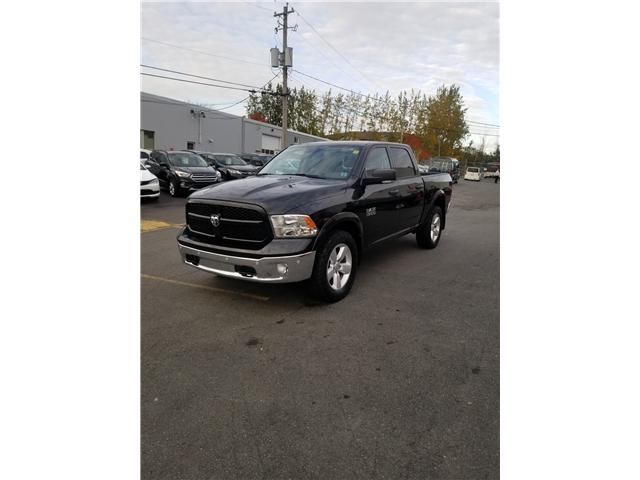 2016 RAM 1500 Outdoorsman Crew Cab SWB 4WD (Stk: p18-154a) in Dartmouth - Image 1 of 10