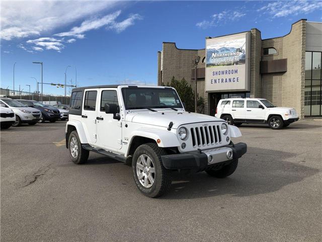 2017 Jeep Wrangler Unlimited Sahara (Stk: P0165) in Calgary - Image 1 of 19