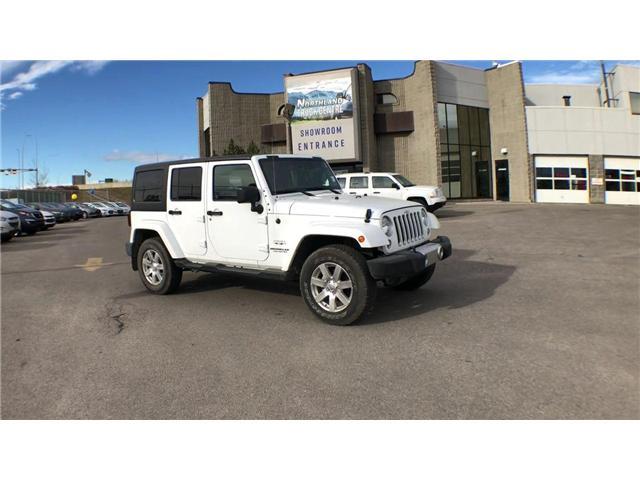 2017 Jeep Wrangler Unlimited Sahara (Stk: P0165) in Calgary - Image 2 of 19