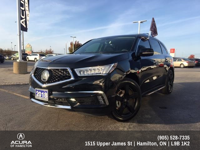 2018 Acura MDX Navigation Package (Stk: 1812450) in Hamilton - Image 1 of 28