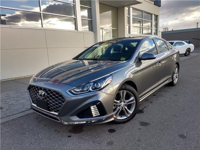 2018 Hyundai Sonata 2.4 Sport (Stk: NE063) in Calgary - Image 1 of 20