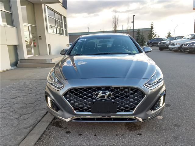 2018 Hyundai Sonata 2.4 Sport (Stk: NE063) in Calgary - Image 2 of 20