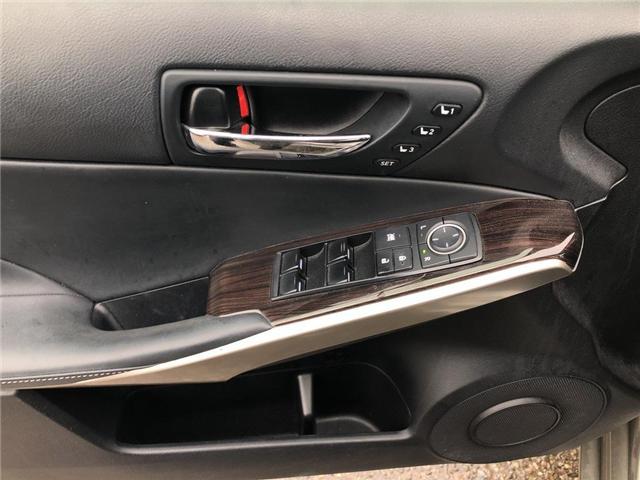 2015 Lexus IS 350 Base (Stk: 006103T) in Brampton - Image 12 of 21