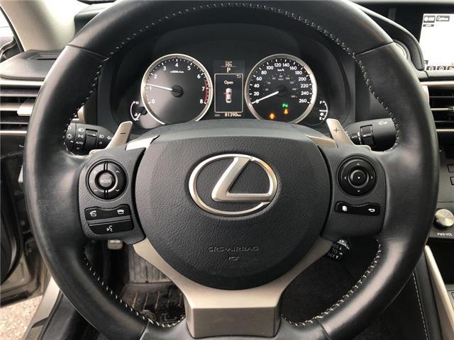 2015 Lexus IS 350 Base (Stk: 006103T) in Brampton - Image 14 of 21