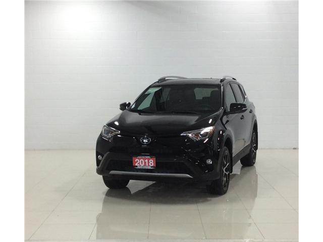 2018 Toyota RAV4 SE (Stk: T18353A) in Sault Ste. Marie - Image 1 of 12