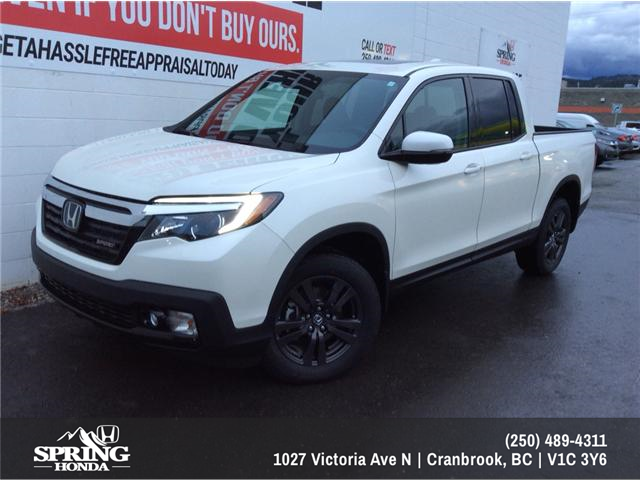 2019 Honda Ridgeline Sport (Stk: H03155) in North Cranbrook - Image 1 of 7