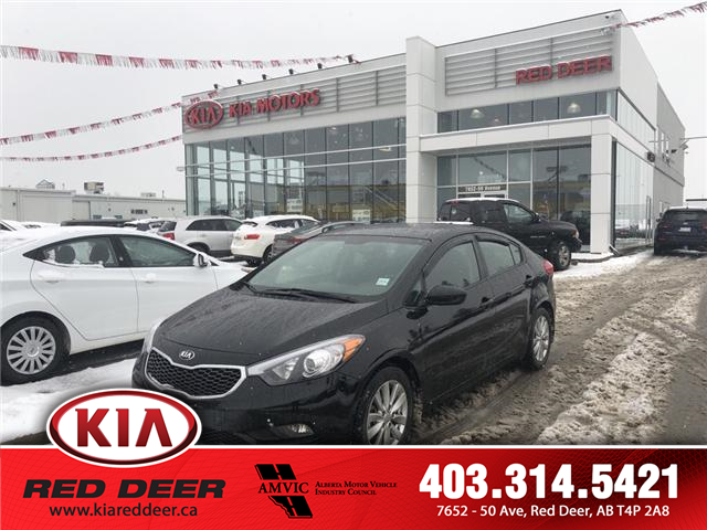 2016 Kia Forte 1.8L LX+ (Stk: 8FT2827A) in Red Deer - Image 1 of 12