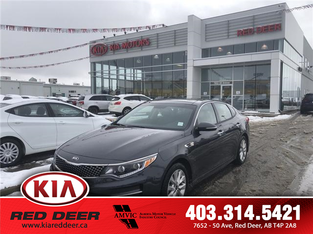 2017 Kia Optima EX Tech (Stk: 8ST3944A) in Red Deer - Image 1 of 16