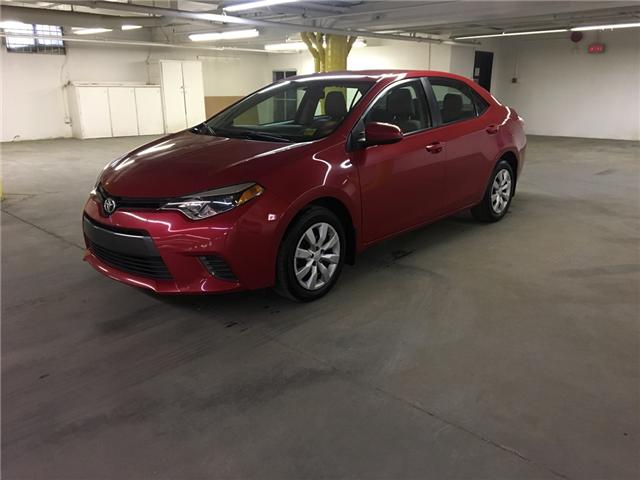 2016 Toyota Corolla LE (Stk: WE161) in Edmonton - Image 1 of 21