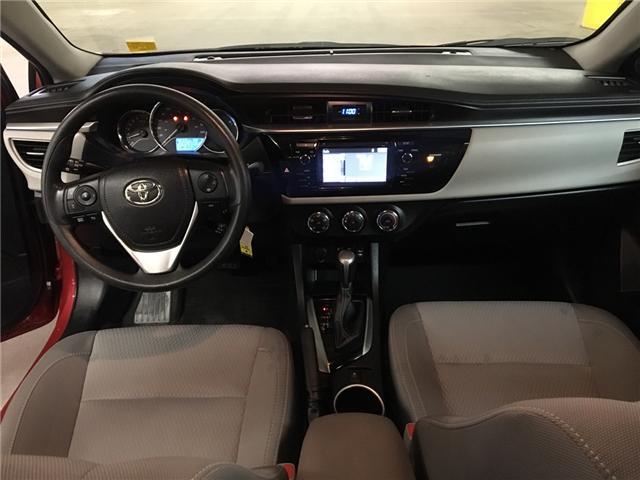 2016 Toyota Corolla LE (Stk: WE161) in Edmonton - Image 12 of 21