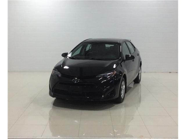 2017 Toyota Corolla CE (Stk: P5041) in Sault Ste. Marie - Image 1 of 11