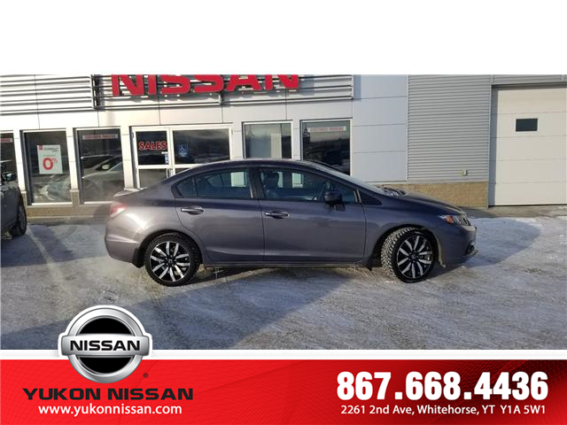 2015 Honda Civic Touring (Stk: 9R0765A) in Whitehorse - Image 2 of 8